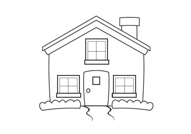 Vẽ ngôi nhà đẹp cho bé