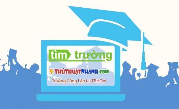 truong dh cong lap tai tp HCM