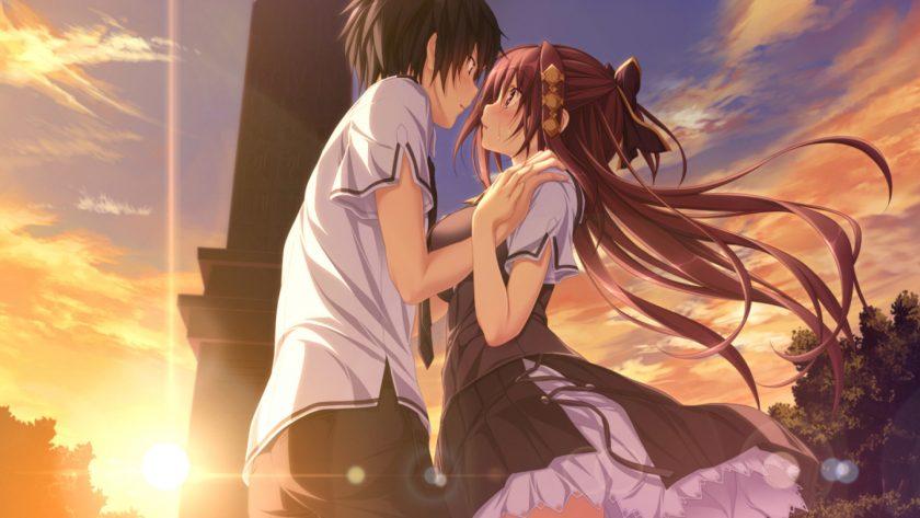 ảnh anime đẹp nhất làm hình nền tình yêu