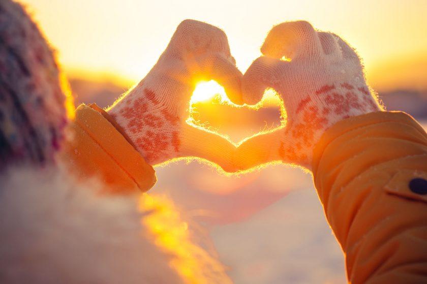 ảnh nắng mùa đông đẹp dịu dàng ấm áp