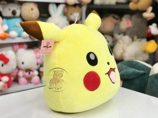 gấu bông pikachu màu vàng đáng yêu