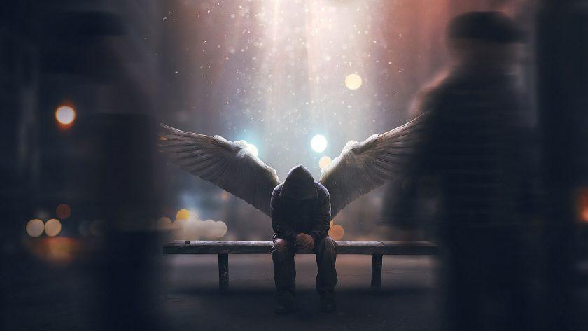 hình ảnh ngồi buồn một mình suy ngẫm