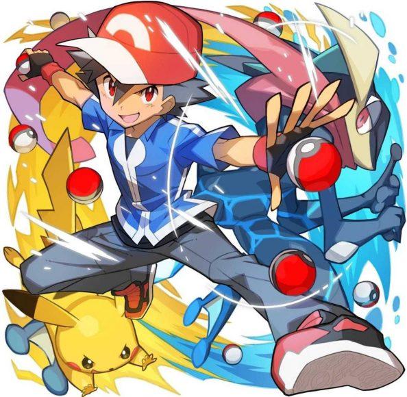 hình ảnh satoshi và pikachu đẹp nhất
