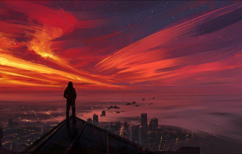hình ảnh suy ngẫm về tương lai