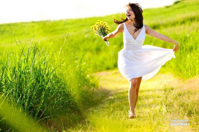hình ảnh vui vẻ hạnh phúc yêu đời