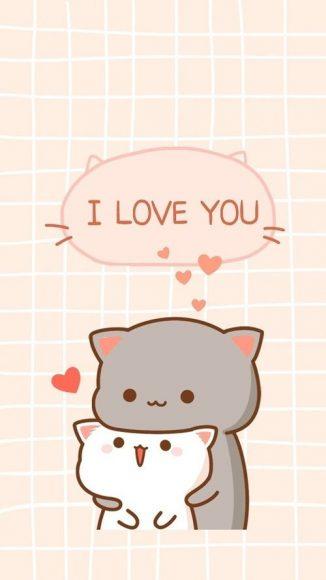 hình nền đẹp cho điện thoại về tình yêu cute dễ thương