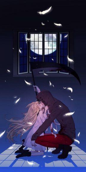hình nền đẹp về tình yêu anime