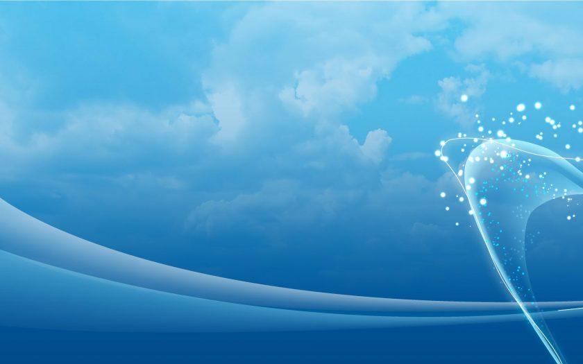 hình nền màu xanh dương trơn