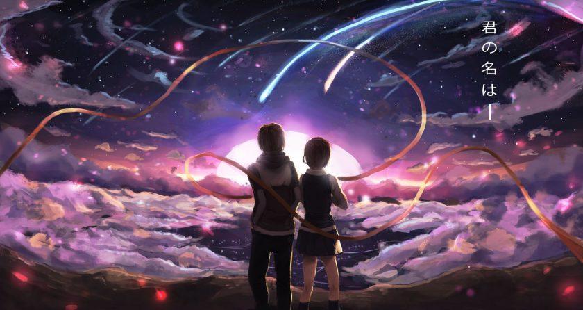 hình nền máy tính anime tình yêu đẹp