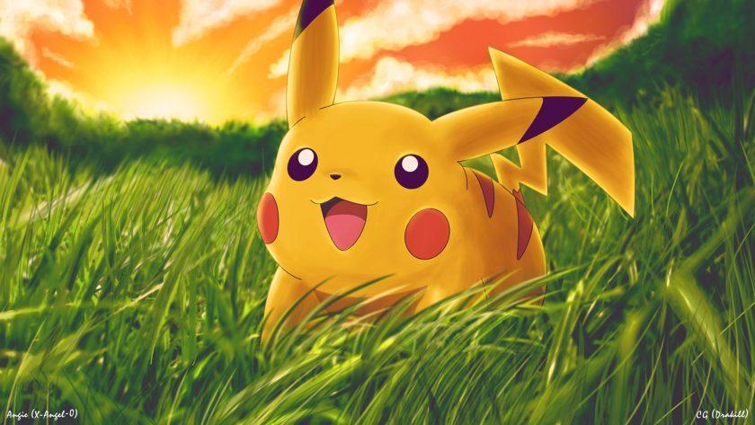 hình nền pokemon pikachu cute