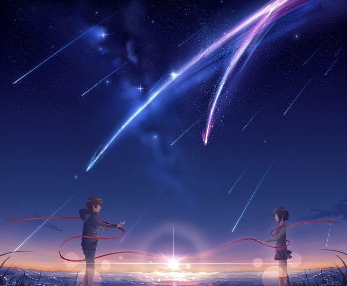 hình nền tình yêu anime lãng mạn Full HD cho máy tính
