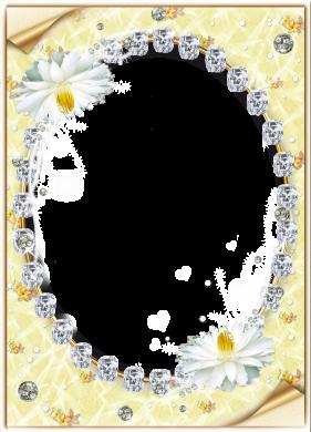khung ảnh đẹp đính kim cương để ghép ảnh