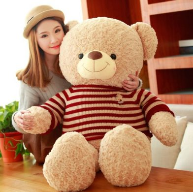 những kiểu gấu bông đẹp tặng con gái