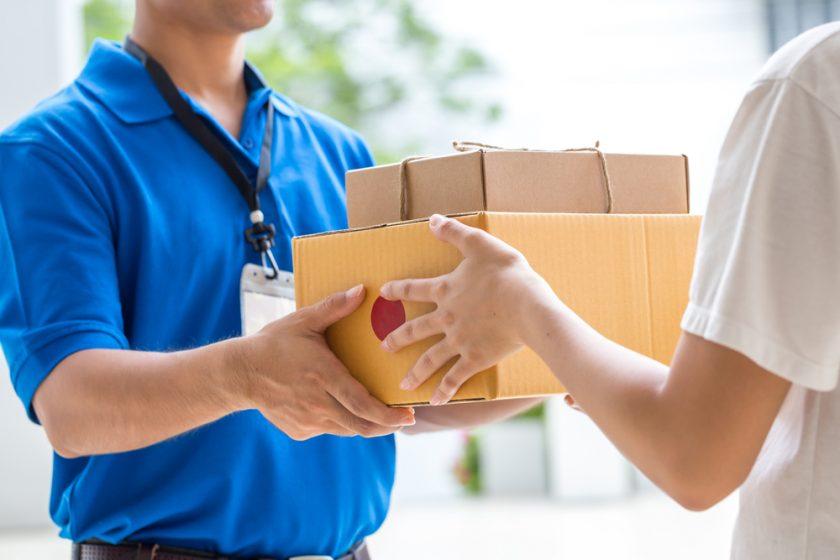 quy trình để nhận phiếu giao hàng