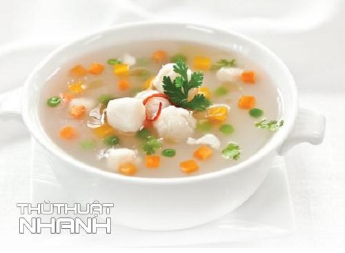 súp chay