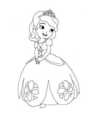 tranh tô màu công chúa barbie cho bé gái 4 tuổi