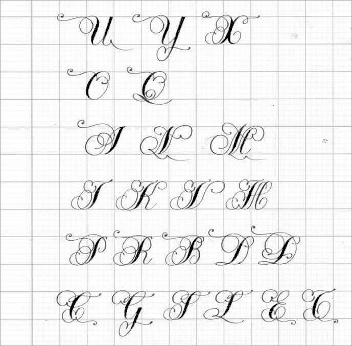 viết chữ hoa sáng tạo đơn giản
