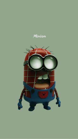 ảnh chế minion làm siêu nhân người nhện