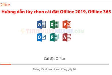 huong dan tuy chon cai dat office 2019 va office 365 online