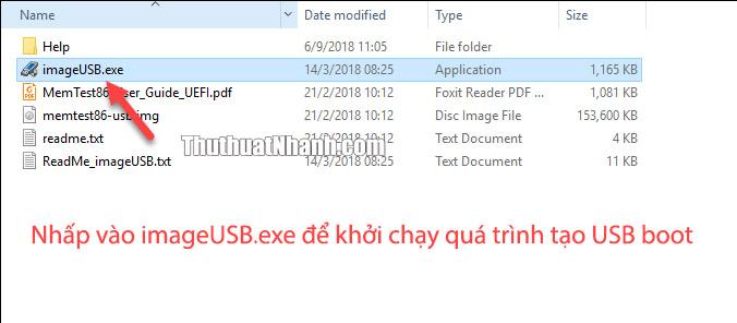 khoi chay chuong trinh tao USB boot