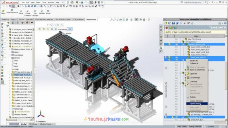 phan mem ve 3d SolidWorks