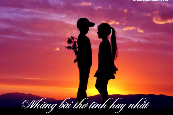 bài thơ tình hay nhất