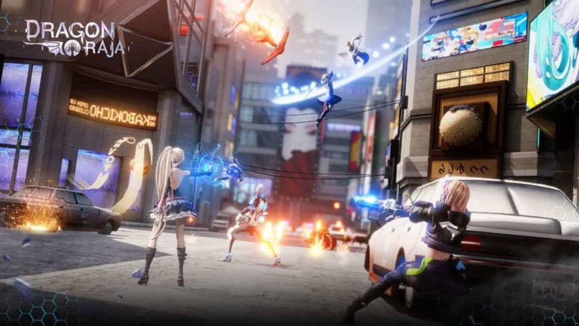 Dragon Raja Game nhập vai offline cho di động android ios