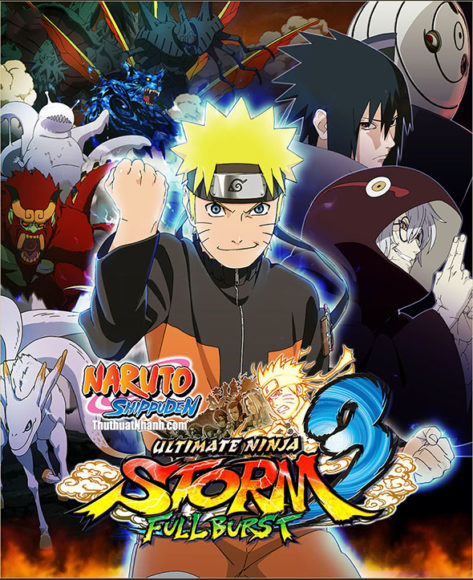 game naruto cho may tinh