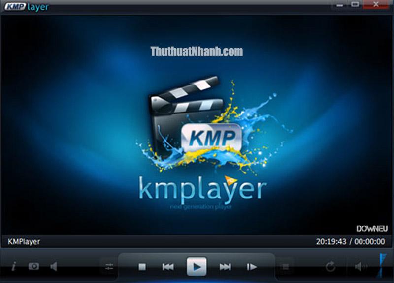 kmplayer phần mềm xem video 4K tốt nhất hiện nay