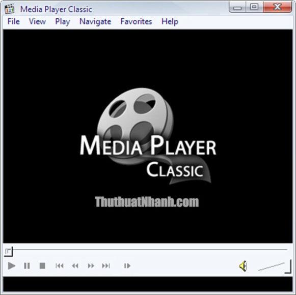 phần mềm xem video media player classic