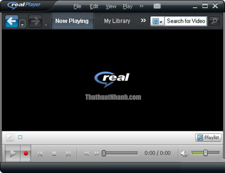 realplayer phần mềm xem video miễn phí