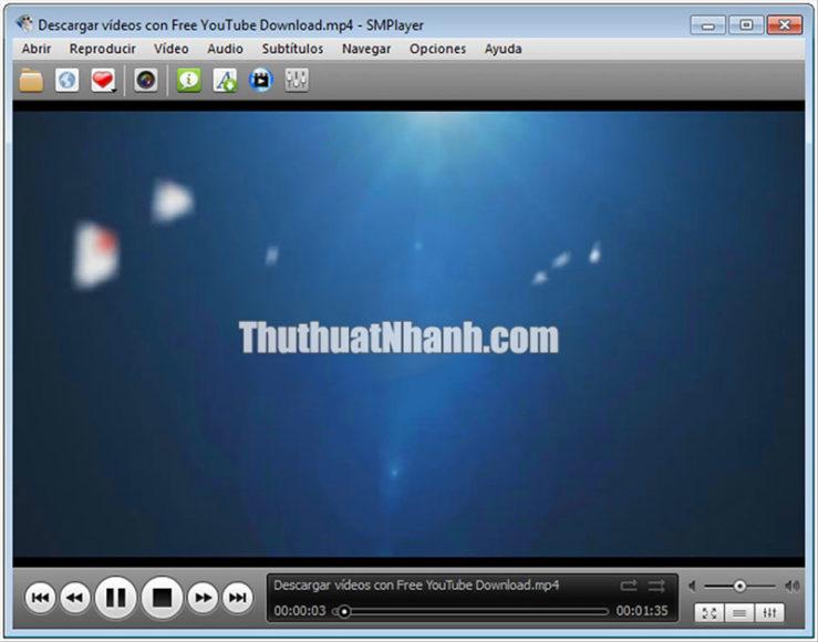 smplayer phần mềm xem video miễn phí pc