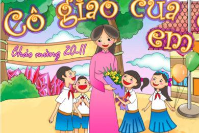Vẽ tranh về ngày nhà giáo Việt Nam 20-11 đẹp và ý nghĩa nhất