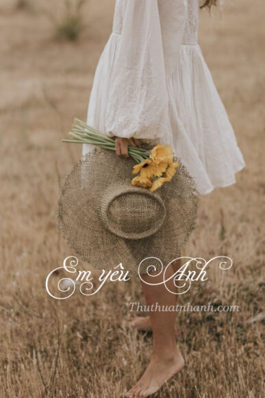 hình ảnh em yêu anh và mùa thu đẹp