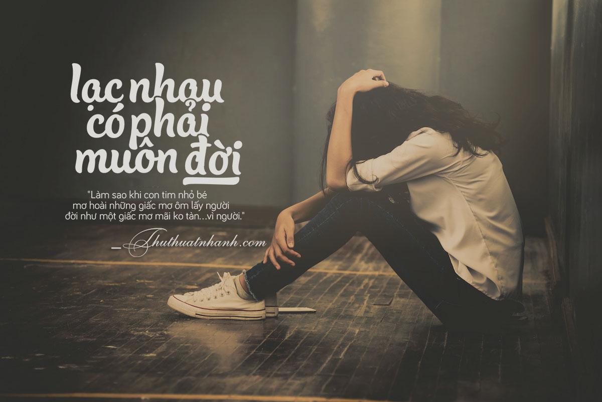 hình ảnh người con gái buồn một mình khi chia tay người yêu