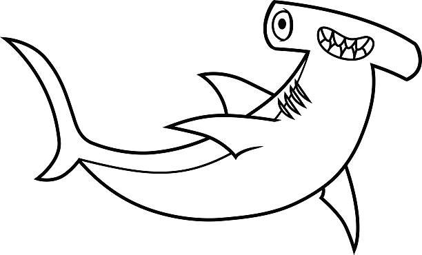 hình cá mập đầu búa tập tô