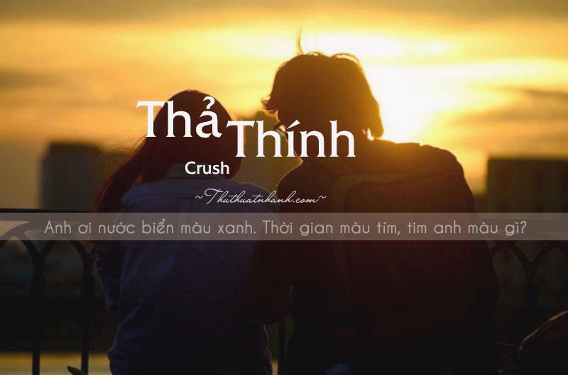 Những câu thả thính vui cực cool, ngầu cho crush