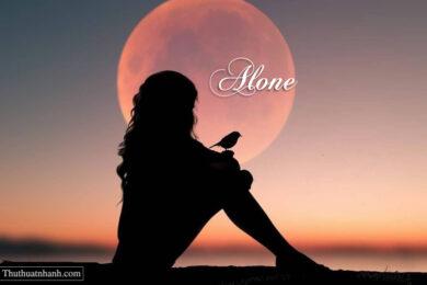 ảnh đại diện cô đơn