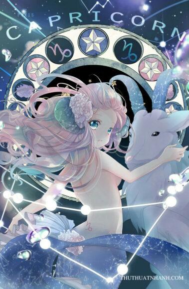 12 cung hoàng đạo anime nhân mã nữ