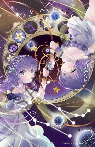 12 cung hoàng đạo anime song tử