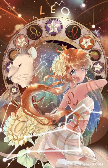 12 cung hoàng đạo anime sư tử
