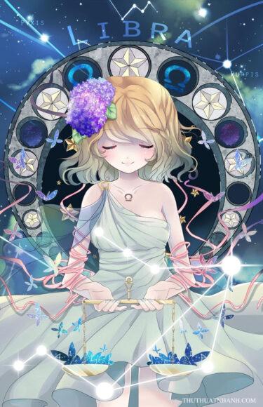 12 cung hoàng đạo anime thiên bình