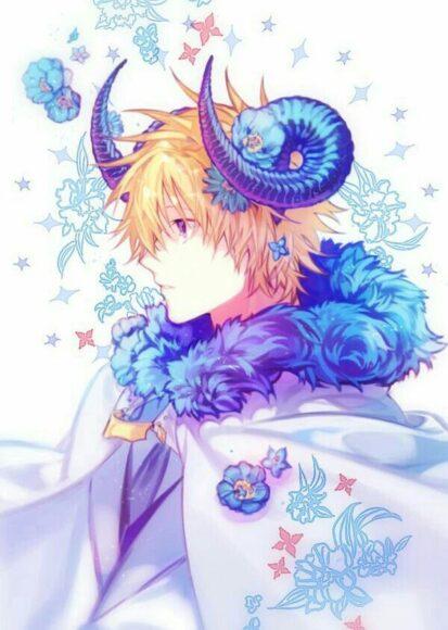 ảnh anime cung hoàng đạo ma kết boy