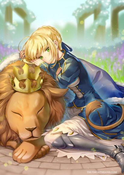 ảnh cung hoàng đạo sư tử anime