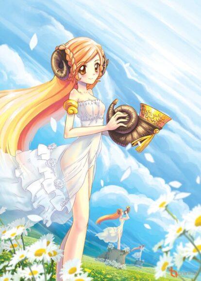 hình ảnh 12 cung hoàng đạo anime