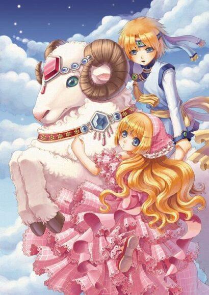 hình ảnh 12 cung hoàng đạo anime boy and girl ma kết