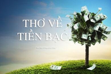 thơ về tiền bạc