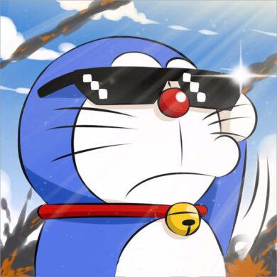 ảnh avatar doremon chất ngầu nhất