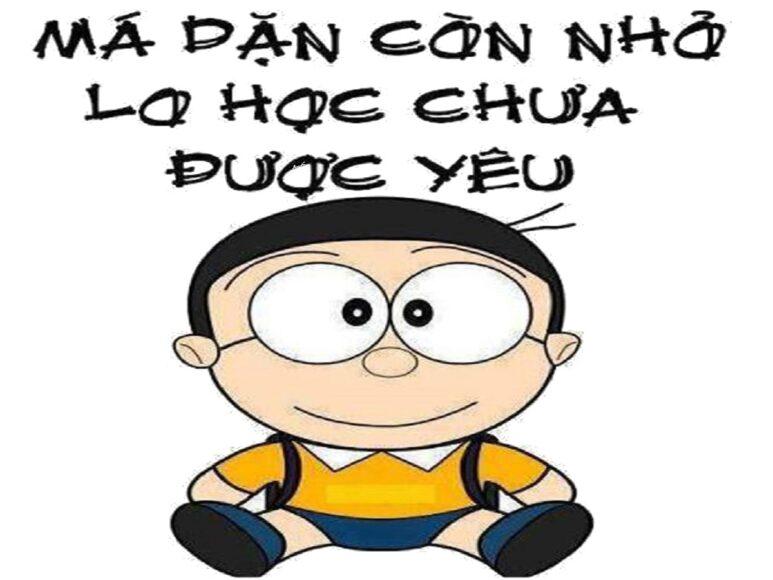 ảnh avatar hài Nobita