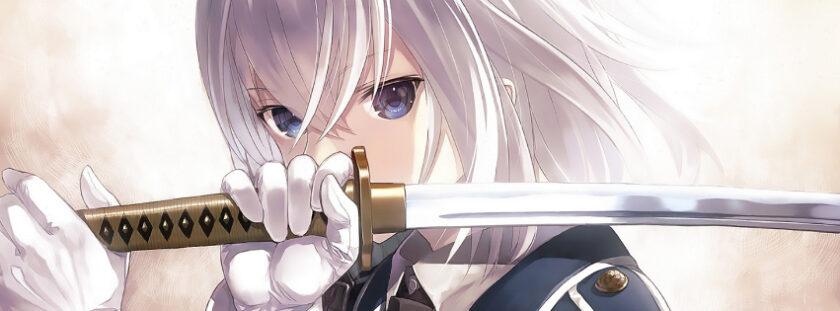 ảnh bìa facebook anime nữ tóc bạch kim chất